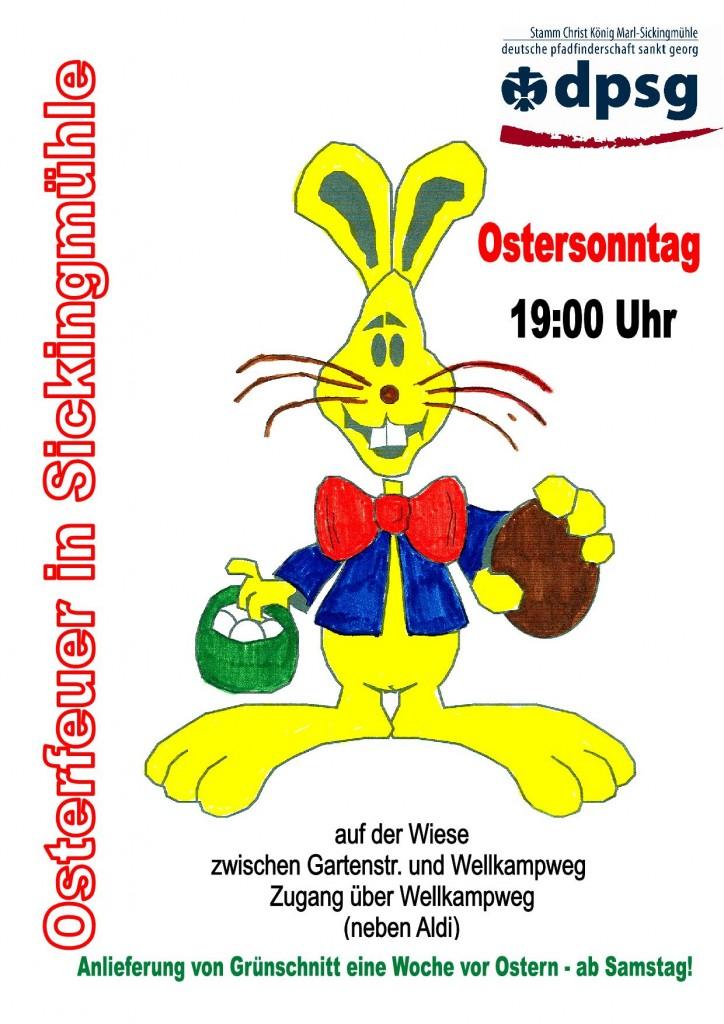 Plakat Osterfeuer 2-001